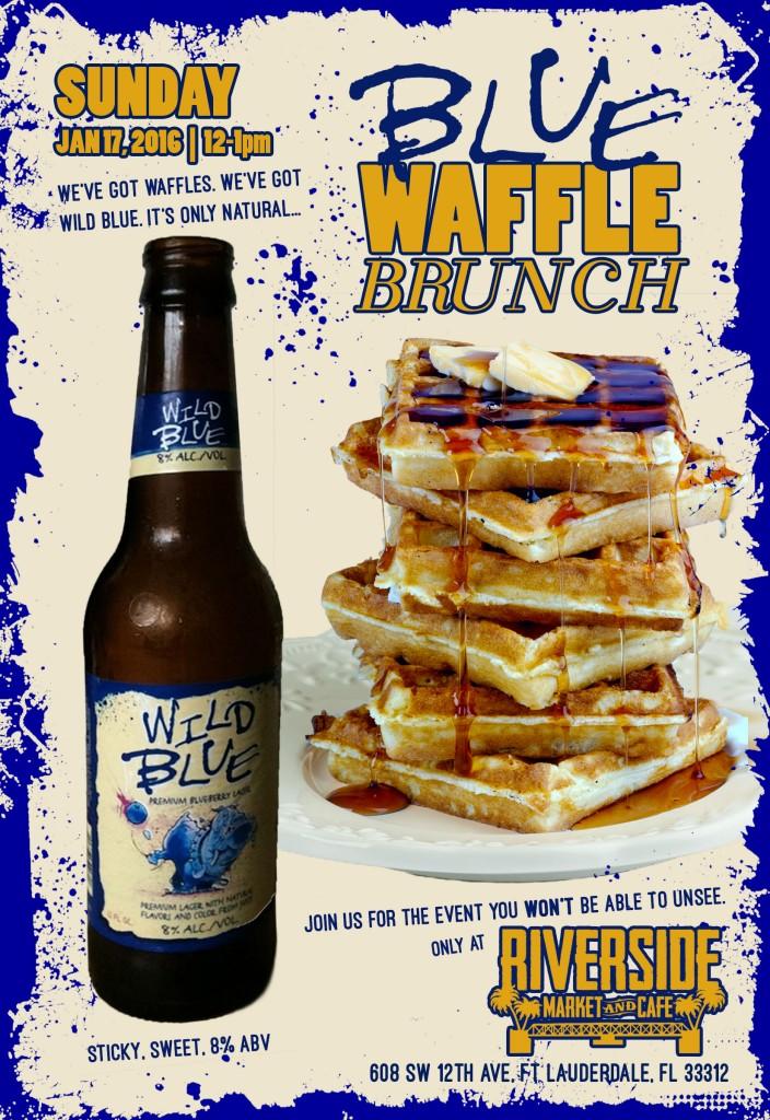 Blue Waffle Brunch