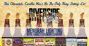 Menorah Lighting With Shmaltz Brewing Company