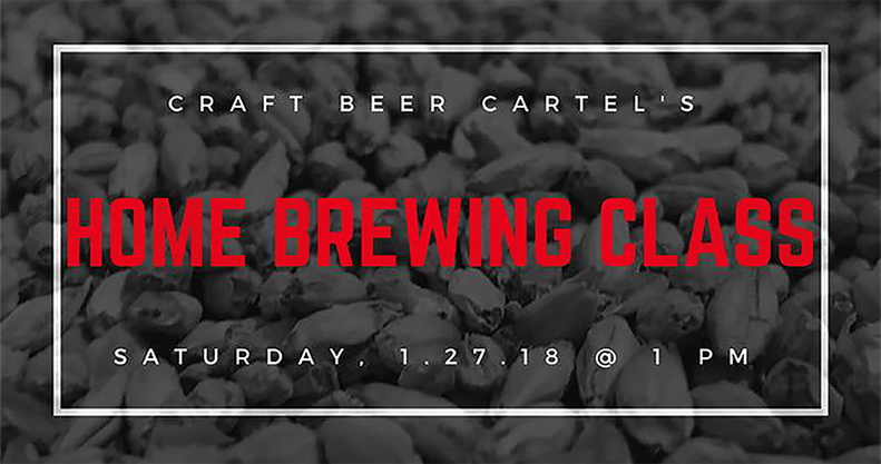 January Home Brewing Class The Riverside Market