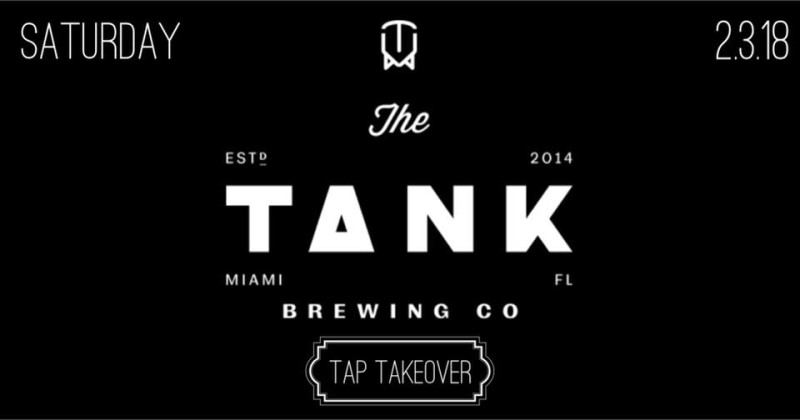 Tank Brewing CO Tap Takeover