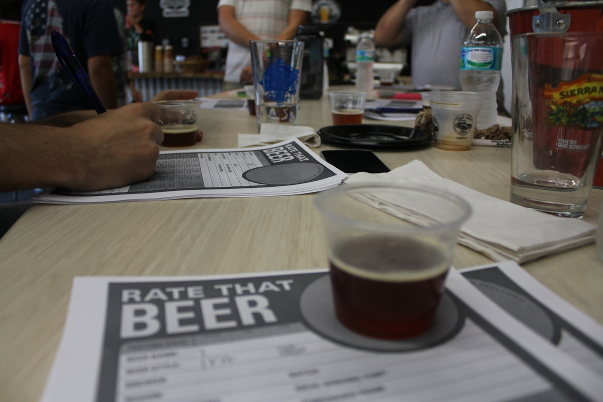 First annual craft beer cartel home brew the riverside for Home brew craft beer