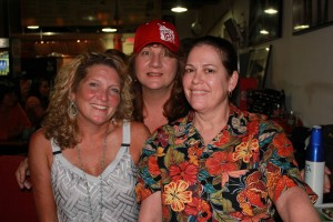 Kelly Huguet, Dana Macdonald, Kimberly Kaupas
