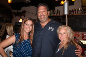 Riverside Market Founders Julian & Lisa Siegel, and JoAnn Smith, President of the Fort Lauderdale Woman's Club